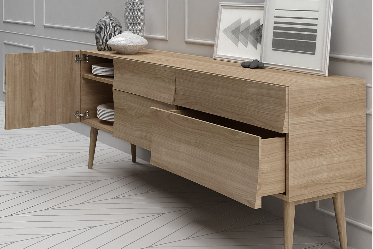 timeless design 36678 5be0a Muuto Reflect Drawer en Reflect Sideboard